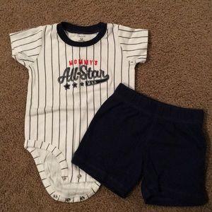 Other - Carter's baby boy baseball set